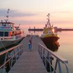 6-12in sõidab väike laev, 12-30in sõidab Elina (kollane) ja 30-190in sõidab Monica