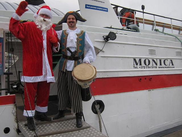 Jõuluetendus Jõuluvana ja Piraat
