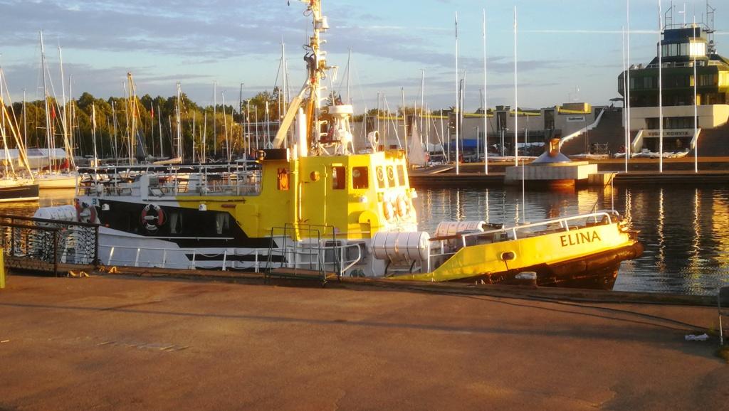 Naissaare ja Aegna laevade asukoht Pirital, reisilaev ELINA