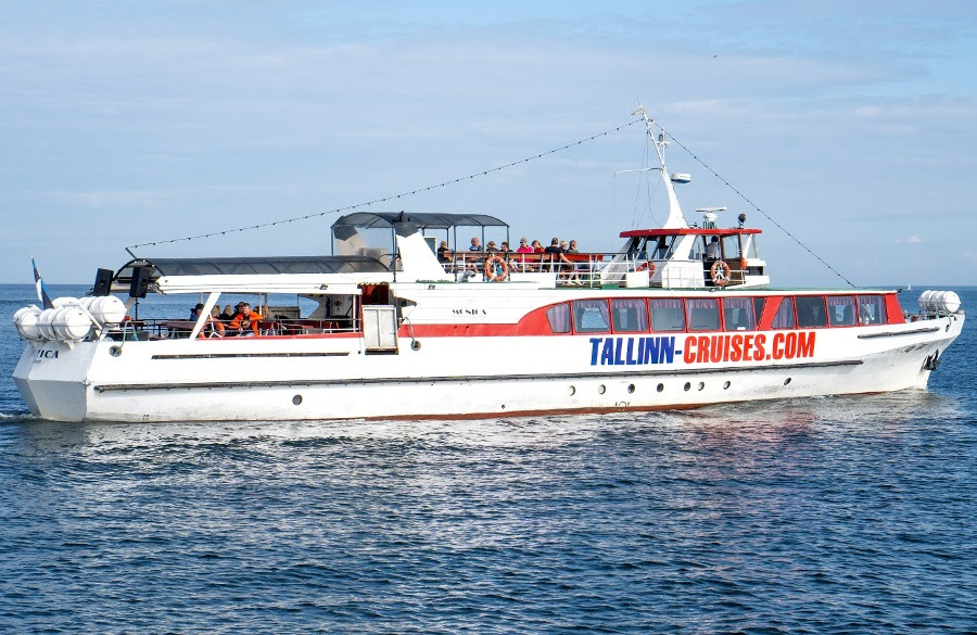 Aegna ekskursioonid ja laevareisid - reisilaev MONICA